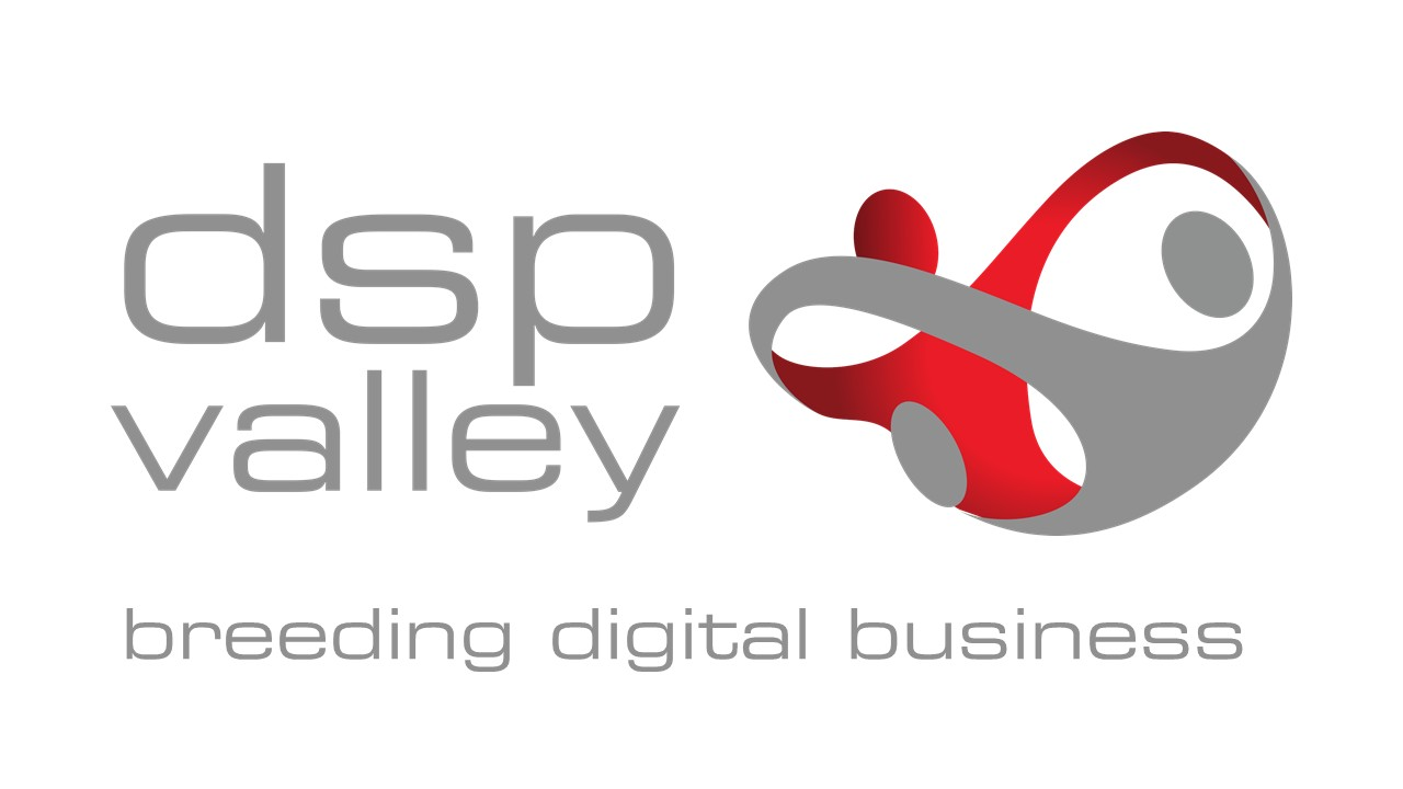 "DSP Valley logo with tagline ""breeding digital business"""