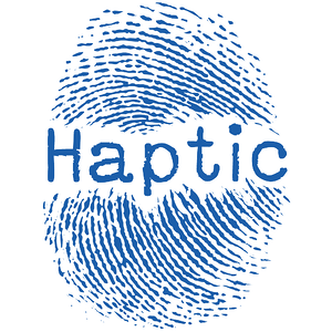 Haptic logo - the word